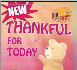 New Release Thankful For Today