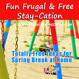frugal staycation